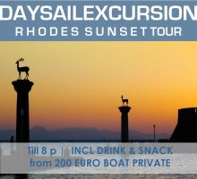 Rhodes | Mandraki Sunset sailcruise