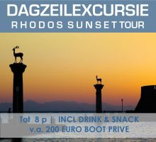 Rhodos Sunset sailcruise