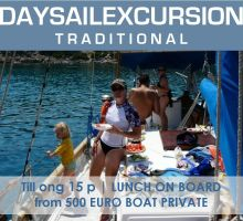 Greek Traditional Yacht Day PRIVATE | Rhodes ENG
