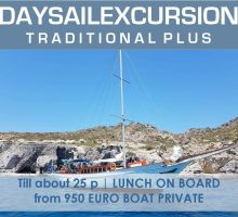 Greek Traditional Yacht Day PLUS PRIVATE | Rhodes ENG