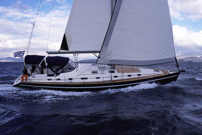 Charter Ocean Star 51.2 from Rhodes | huur een Ocean Star 51.2 vanaf Rhodes |  Sail in Greece Rhodes | sail-in-greece.net