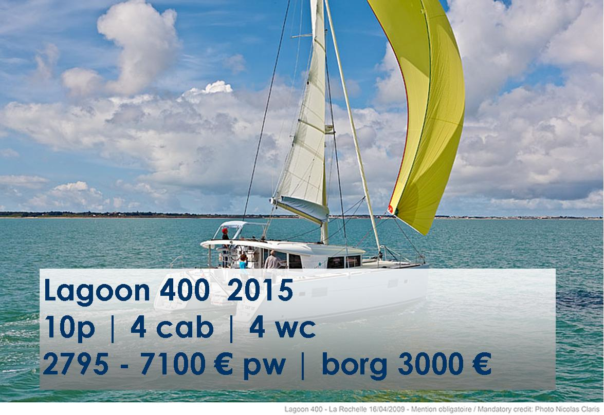 Charter Lagoon 400 from Rhodes | huur een Lagoon 400 vanaf Rhodes | Sail in Greece Rhodes | sail-in-greece.net