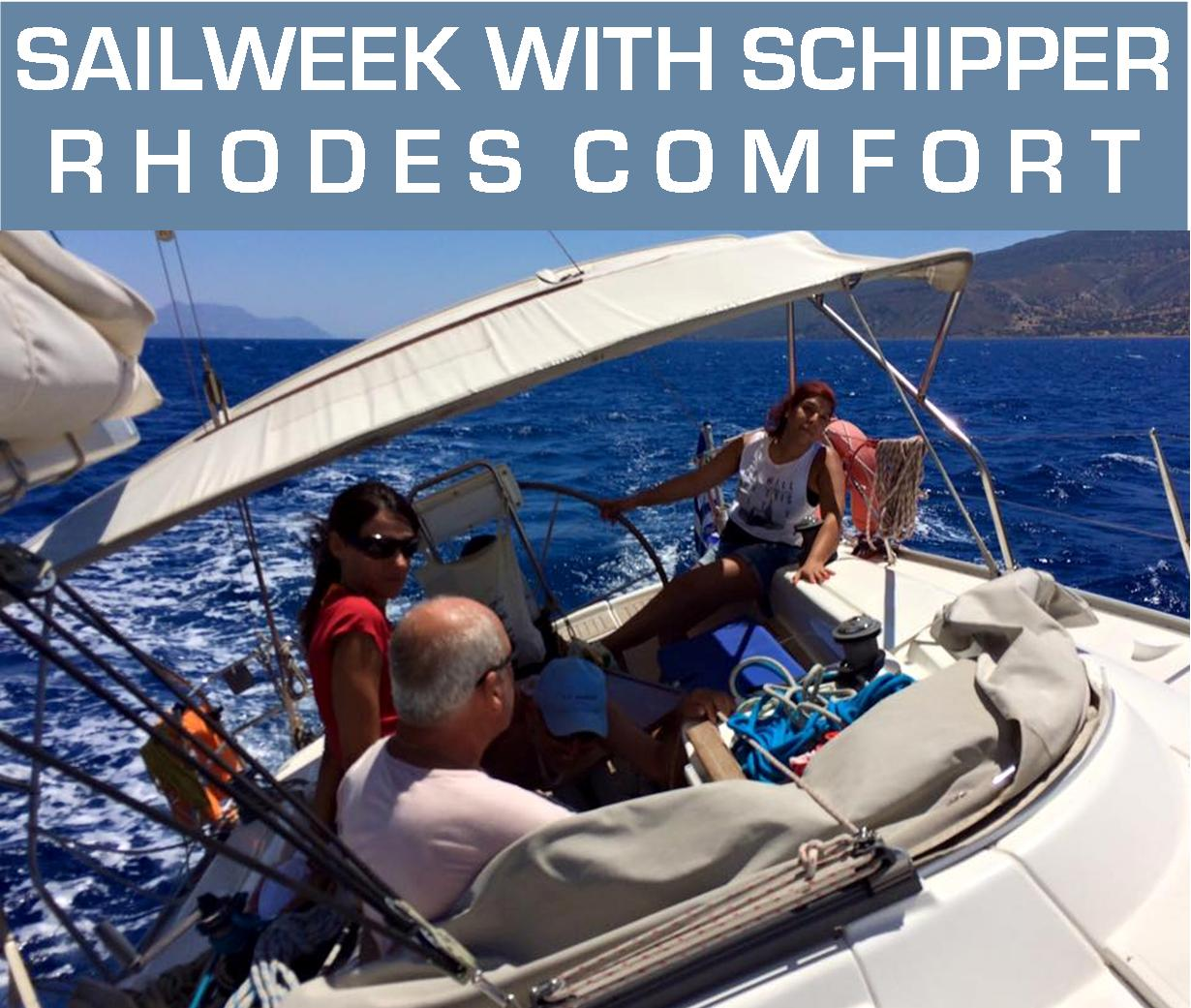 One day sailing with your friends on Rhodes | Sail in Greece | sail-in-greece.net